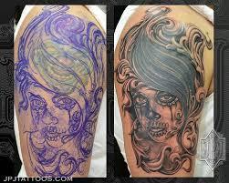 skull cover up tattoos skullspiration com skull designs art
