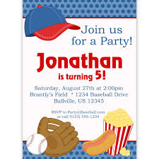 baseball party invitations cloveranddot com