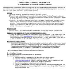 best photos of physician assistant resume examples sample cover letter