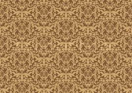 abstract seamles vector background in victorian style stock