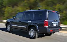 jeep commander inside 2008 jeep commander specs and photos strongauto