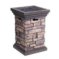 Stone Design by Shop Allen Roth Canyon Ridge 19 49 In W 30 000 Btu Stone Design
