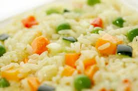 cuisiner du riz blanc riz blanc aux légumes riz pâtes et féculents délicook en recettes
