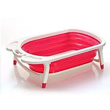 Baby Foldable Bathtub Foldable Baby Bath Tub Lighweight And Sturdy Ideal For Easy