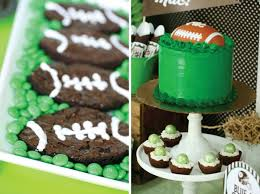 football party ideas football party planning ideas supplies idea cake cupcakes