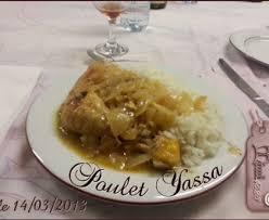 cuisiner du poulet poulet yassa de maman sénégal recette de poulet yassa de