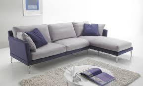 canapé en plume canapé contemporain en tissu 3 places bleu plume sofa