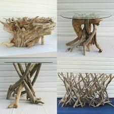 driftwood coffee table base driftwood table driftwood beach