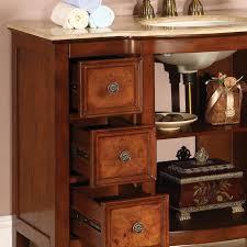 Bathroom Vanities Oak 48 Perfecta Pa 163 Bathroom Vanity Single Sink Cabinet Oak