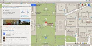 Washington Dc Google Maps by Hackers At Work White House Labeled As The Nigg R House On Google