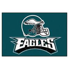Indoor Outdoor Rugs Home Depot by Fanmats Philadelphia Eagles 19 In X 30 In Accent Rug 5822 The