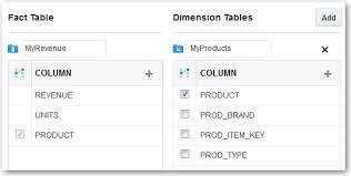 Fact Tables Adding Fact Tables And Dimension Tables To A Data Model
