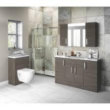 Hudson Reed Bathroom Furniture Hudson Reed Grey Avola Plinth 1250mm X 145mm Off591