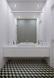 geometric bathroom design interior design ideas