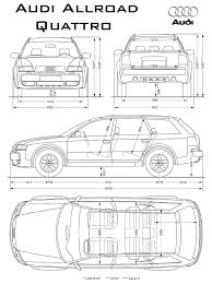 dimension audi a6 car audi allroad the photo thumbnail image of figure drawing
