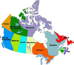 Canada On A Map Canada On A Map Maps Distance Tool