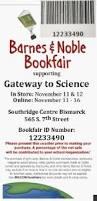 Barnes Noble Online Coupon Barnes U0026 Noble Bookfair Gateway To Science North Dakota U0027s