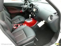 nissan juke leather seats black red leather red trim interior 2012 nissan juke sl awd photo