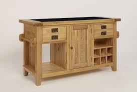 oak kitchen island with granite top chiltern grand oak granite top kitchen island