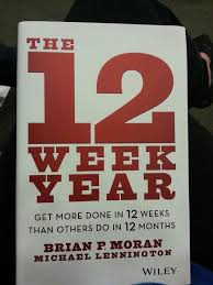 12 week year book 12 best complete your goals in 12 weeks images on 12