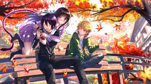 noragami hiyori and yato noragami wallpaper