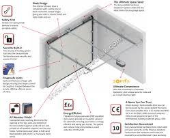 standard garage door opening sectional roller garage doors security direct