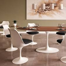 Tulip Table And Chairs Saarinen Tulip Oval Dining Table