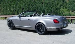 black convertible bentley test drive 2011 bentley continental supersports convertible u2013 our