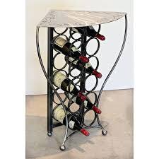 wine racks wrought iron floor standing wrought iron floor standing