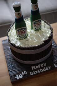 beer barrel cake peroni nastro azzuro barrel birthday cake bakealous