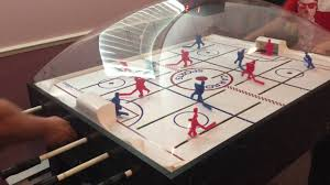 Dome Hockey Table Carrom Dome Bubble Hockey Father Against Son Part 2 Youtube