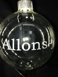 doctor who tardis ornament by lastyesterday on etsy buy my stuff