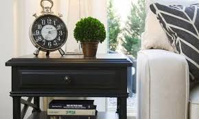 Side Table In Living Room End Tables Living Room Best 25 Black Side Table Ideas On Pinterest