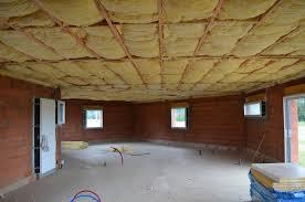 isolation plafond chambre prix isolation plafond sous sol maison image idée