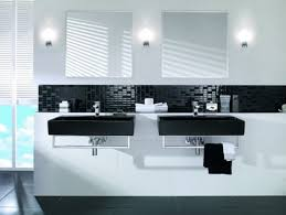 pictures of black and white bathrooms ideas fascinating vanity table height bold beautiful black and white