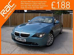 used 2004 bmw 6 series 4 4 645ci auto 2dr for sale in croydon