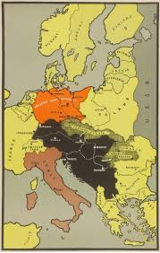 Map Of Europe 1939 by