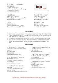 Breakfast Cook Resume Miss Josee Harris Cover Letter U0026 Cv