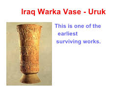Vase Of Warka History Of Art Pre Historic To Modern