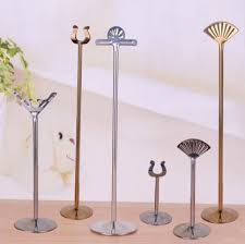 wedding table number holders 18inch stainless steel table number holders wedding table