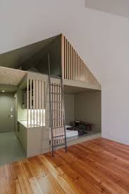 Small Mezzanine Bedroom by A Tiny Apartment That Makes The Most Of Very Little Space