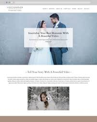 videographer wordpress theme launch and sell