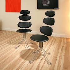 Designer Swivel Chair - swivel chair dining sets set of 2 black swivel ultra modern