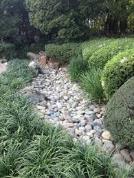 dry creek bed idea lower 40 project sebastopol my garden