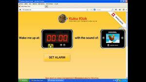 Kukuclock Alarm Online Kuku Klok Youtube