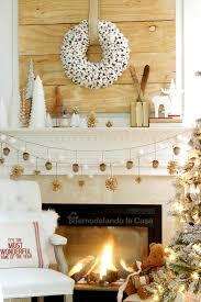 Christmas Moose Home Decor Remodelando La Casa Rustic Christmas Mantel