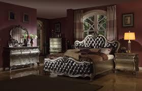 4 pc mcferran bordeaux platinum b8302 bedroom set usa warehouse