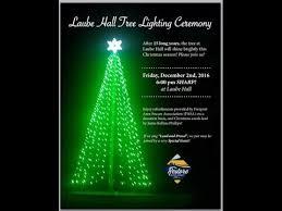 freeport tree lighting laube hall 2016 freeport community park