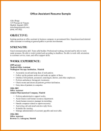 Clerical Resumes Resume For Clerical Position Objective Restaurant How To Write A