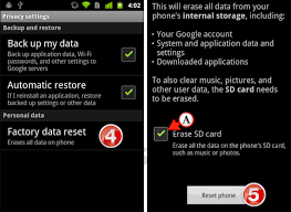 how to reset android phone how to reset your android phone to factory settings